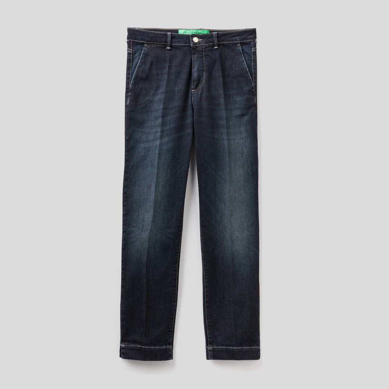 Slim-Fit-Chinos in Jeans