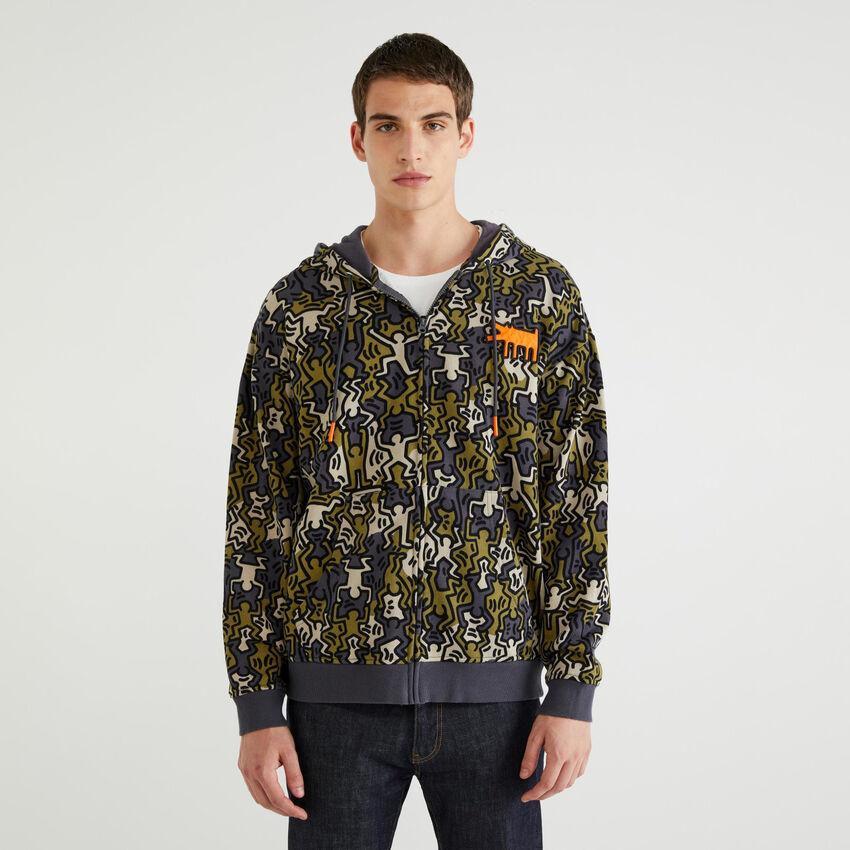 "Sweatshirts mit Print ""Keith Haring"""