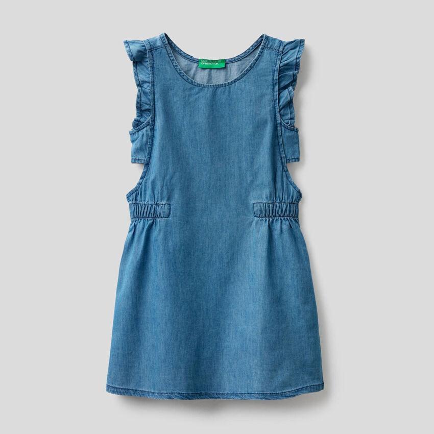 Kleid aus Chambray