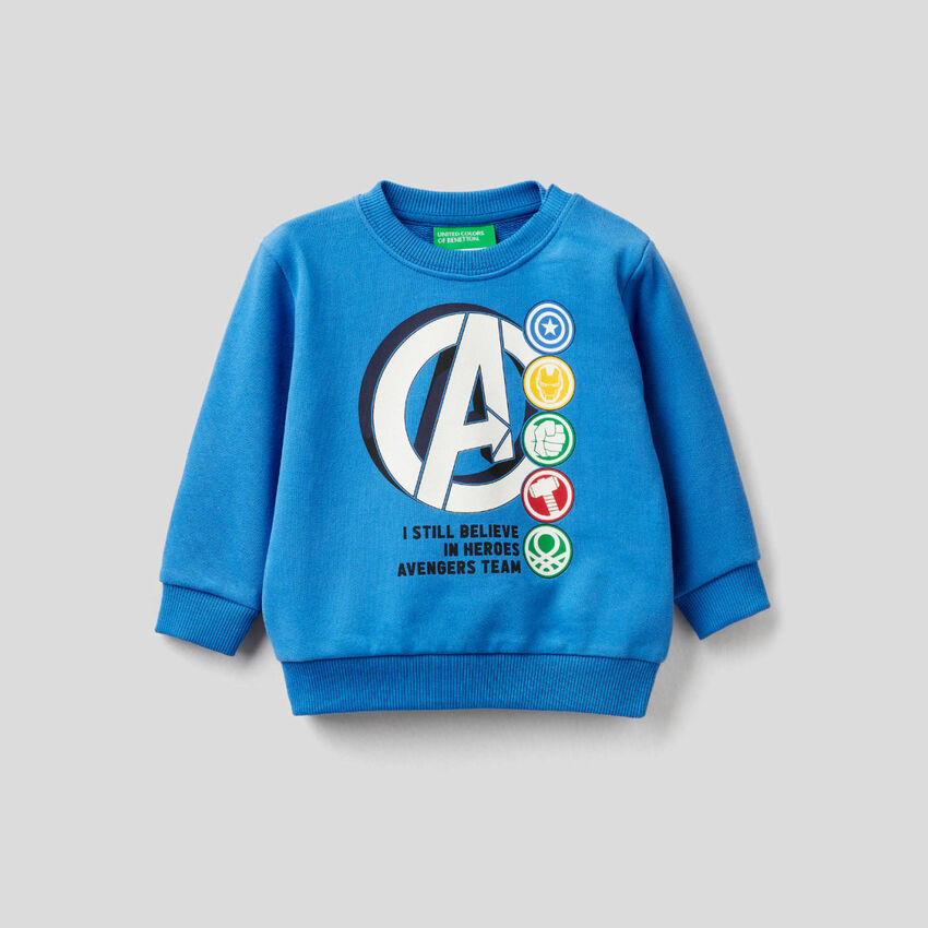 Marvel-Sweatshirt aus reiner Baumwolle