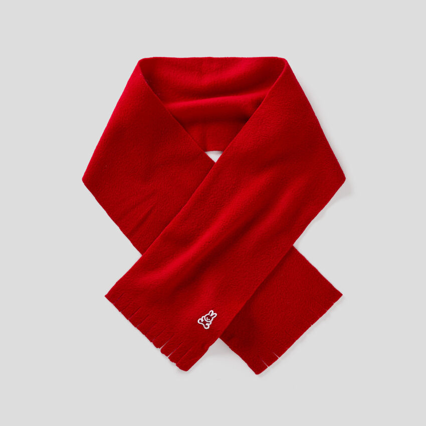 Weicher Schal aus Fleece