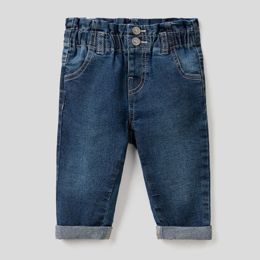 """Jeans """"Eco-Recycle"""" mit Paperbag-Taille"""