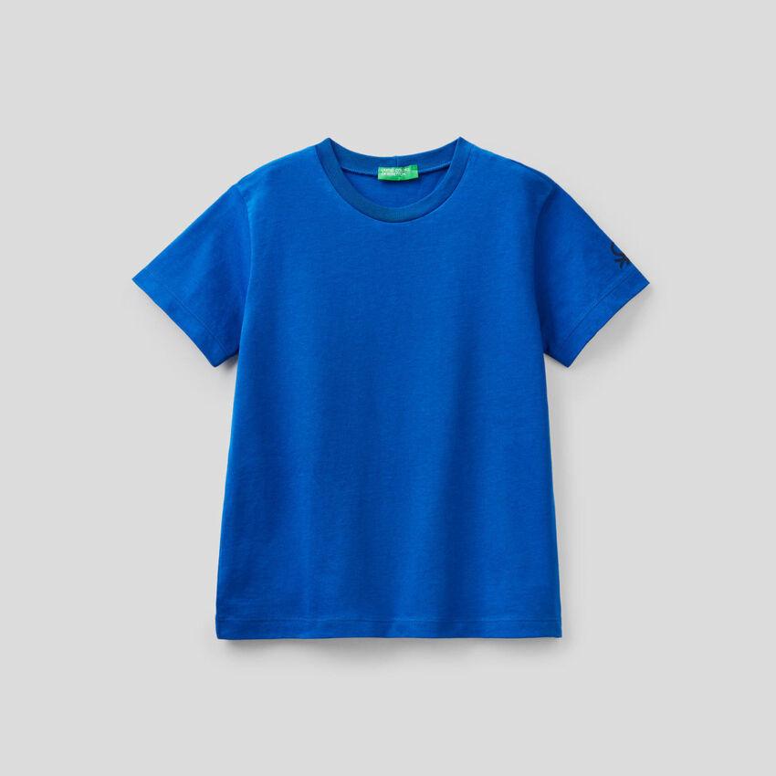 T-Shirt aus Bio-Baumwolle mit Logoprint
