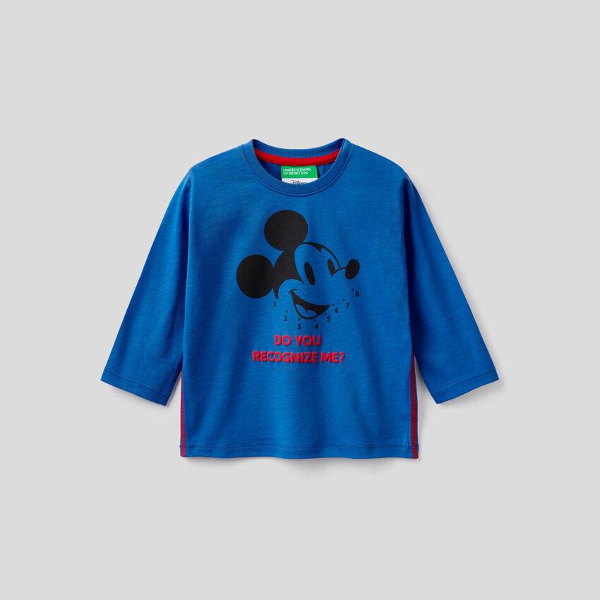 Micky Maus-T-Shirt aus 100% Baumwolle