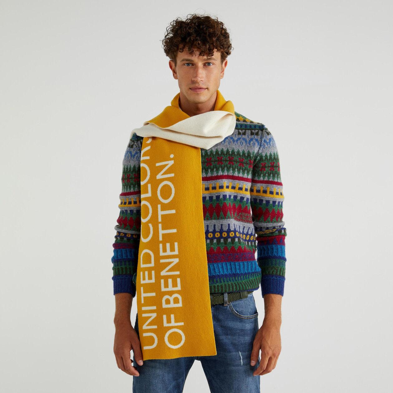 Unisex-Schal mit Logo