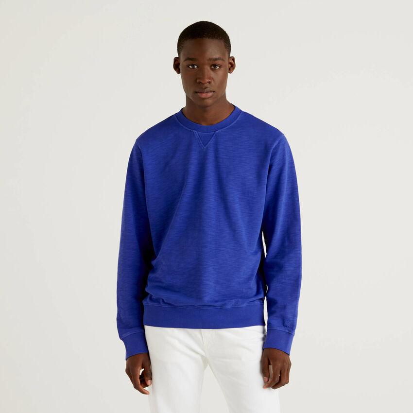 Einfarbiges Sweatshirt