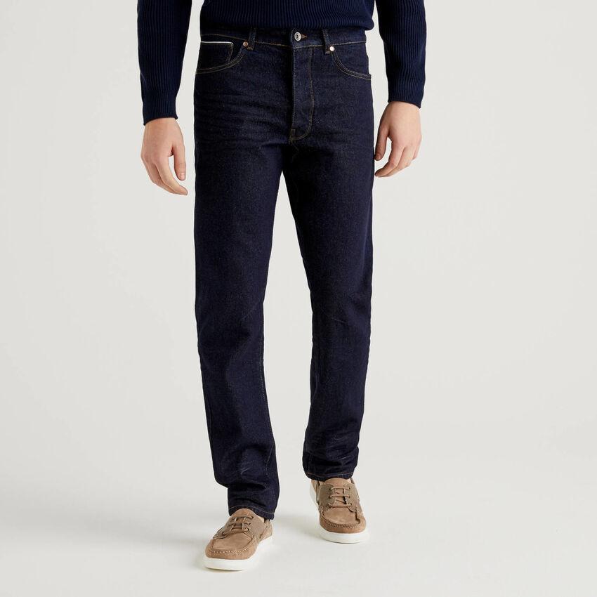 Five-Pocket-Jeans aus Denim in 100% Baumwolle