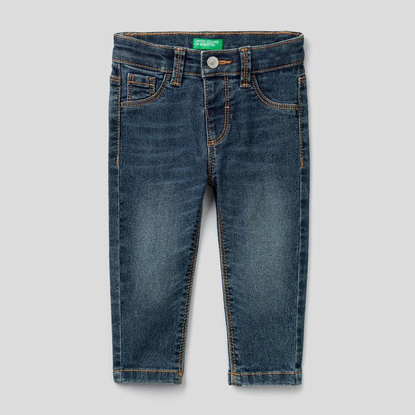 Skinny Fit-Jeans in einer stretchigen Baumwollmischung