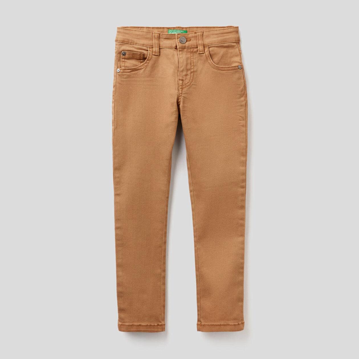 Skinny-Fit-Hose mit Taschen