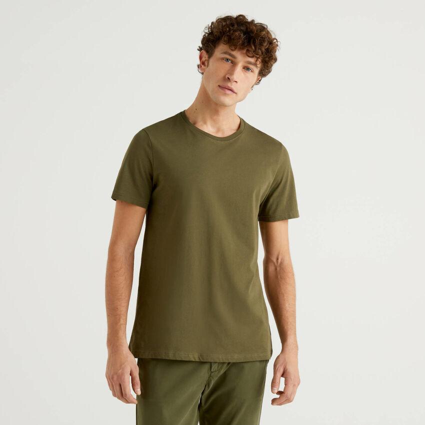 Personalisierbares T-Shirt in Militärgrün