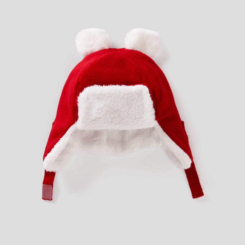 Mütze mit Ohrenschützern aus Fleece