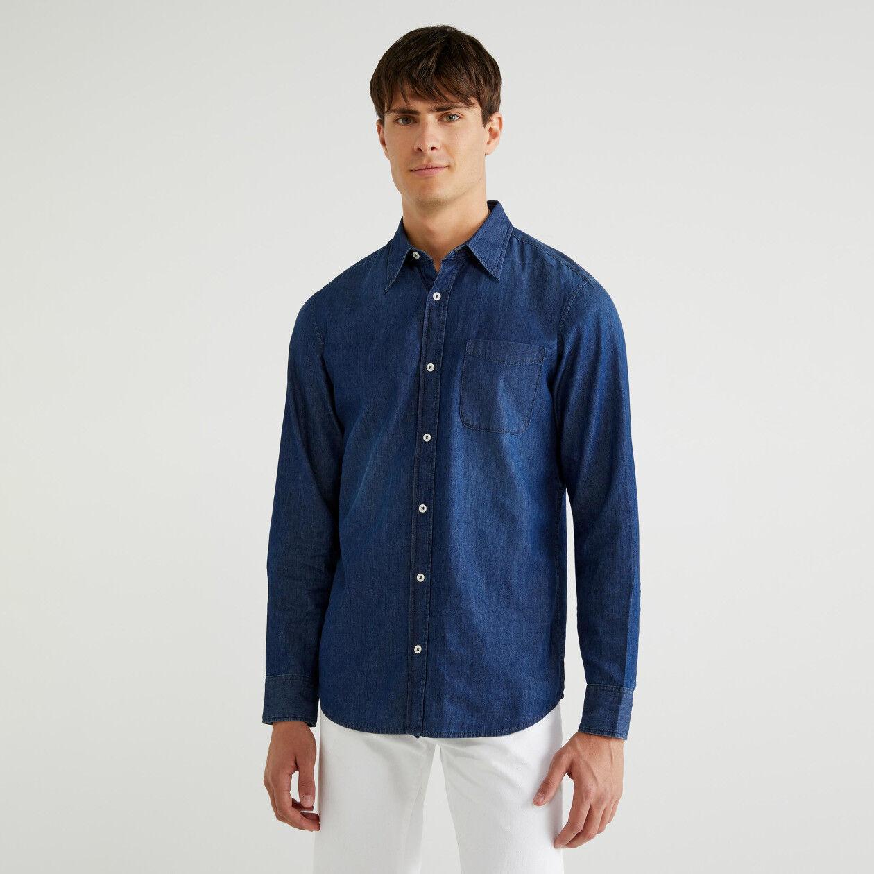 Hemd aus Chambray