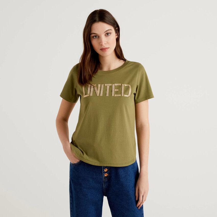 """T-Shirt """"united"""" aus 100% Baumwolle"""