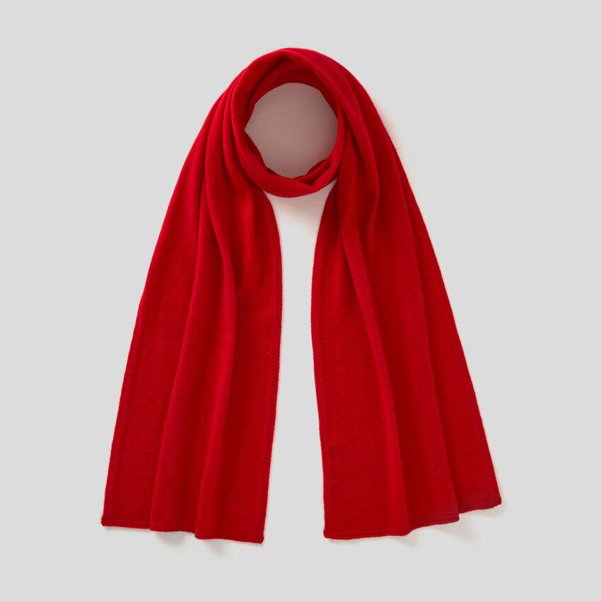 Schal in einer Mischung aus Wolle und Cashmere