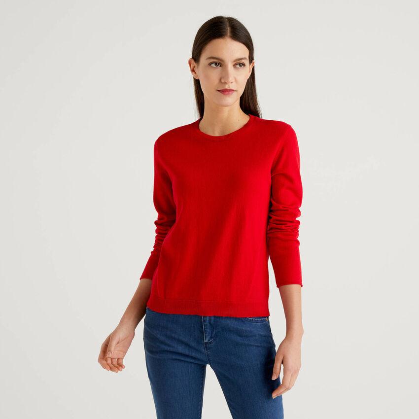Pullover aus einer Cashmeremischung