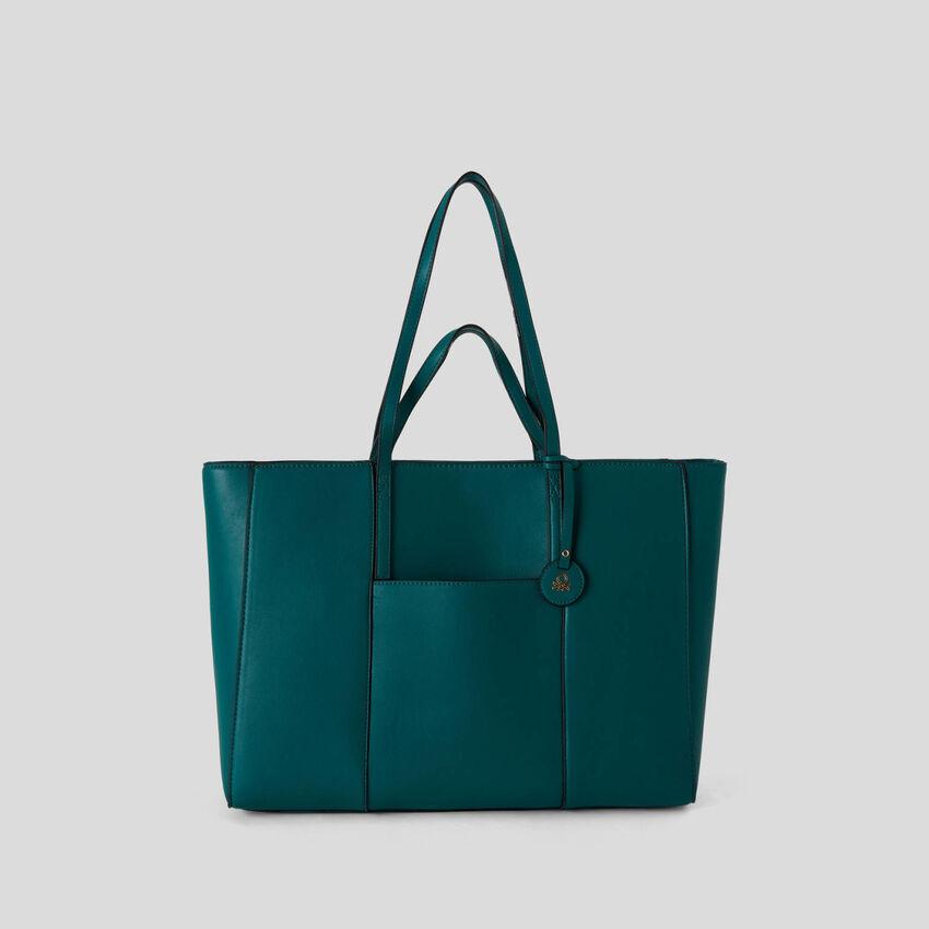 Shopping Bag mit zwei Tragegriffen