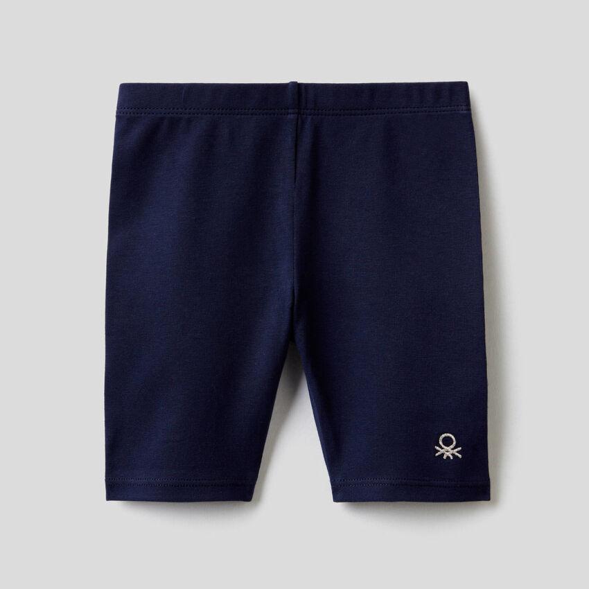 Leggings aus elastischer Baumwolle
