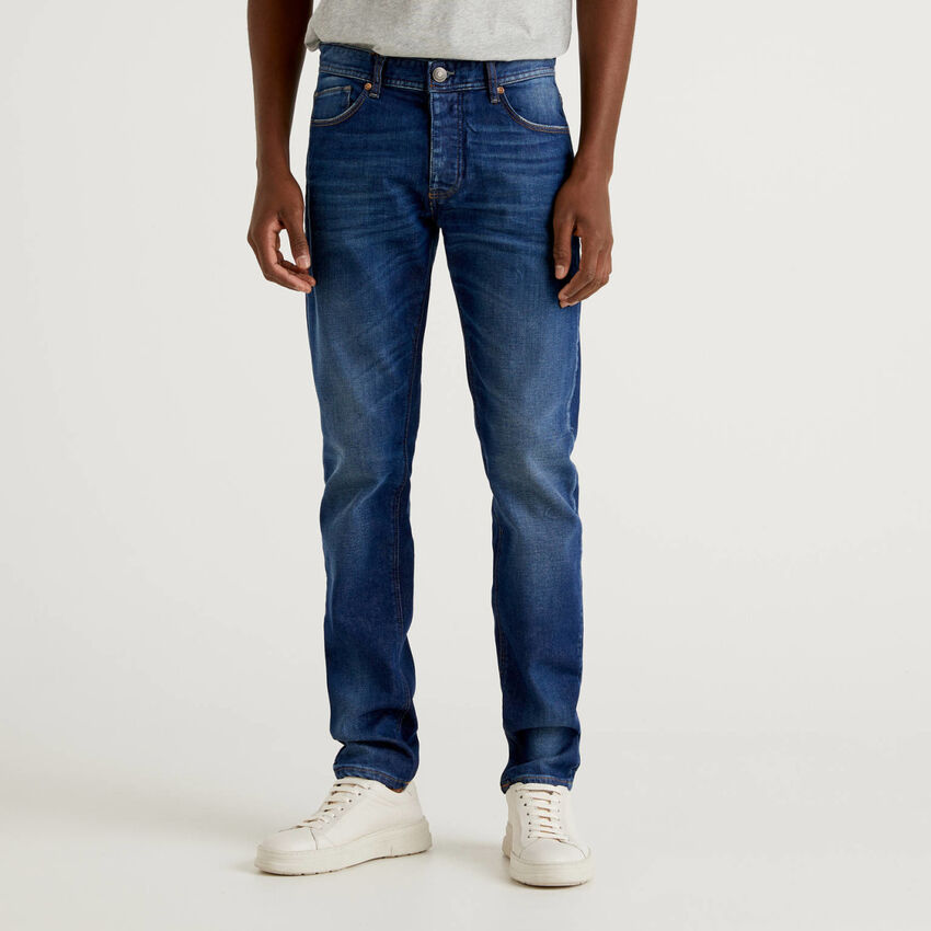 Five-Pocket-Jeans im Slim Fit