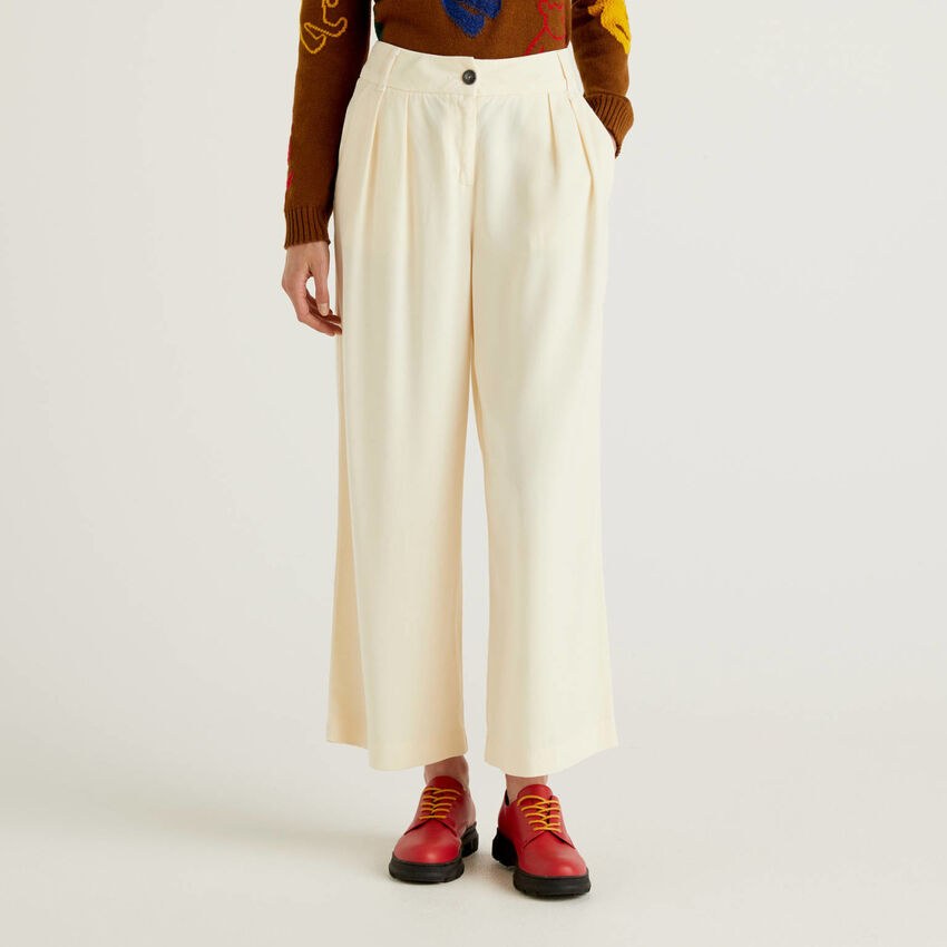 Hose im Culotte-Schnitt