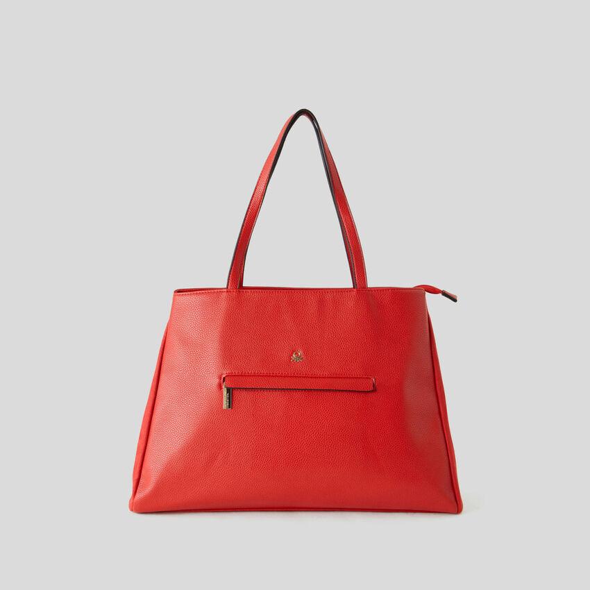 Shopping Bag mit zwei Fächern