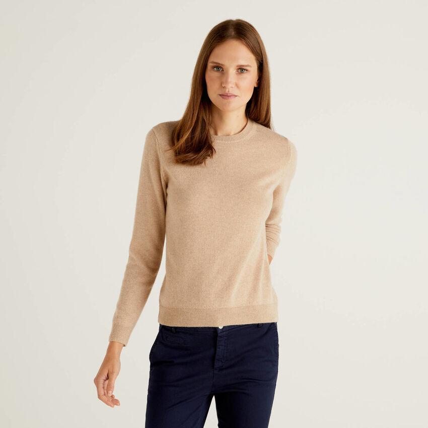 Pullover aus reinem Cashmere mit Rundhals