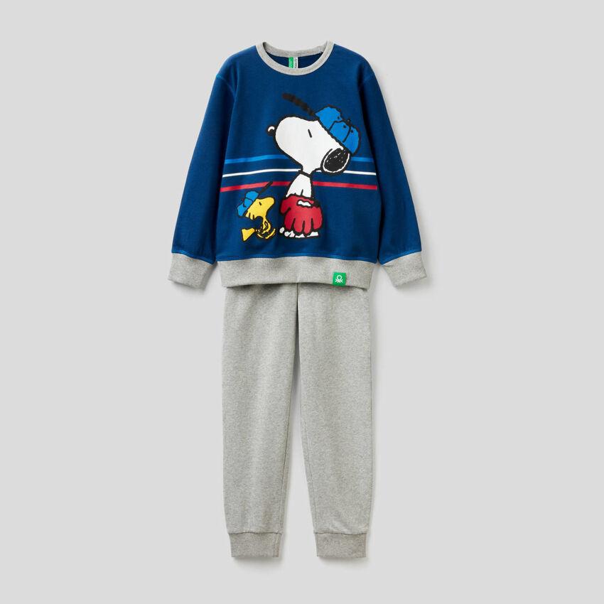 Peanuts Pyjama aus reiner Baumwolle
