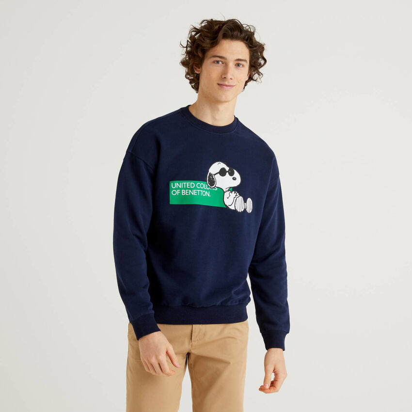 Sweatshirt Peanuts in 100% Bio-Baumwolle