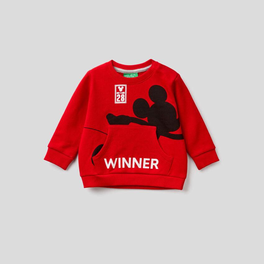 Sweatshirt mit Print Disney
